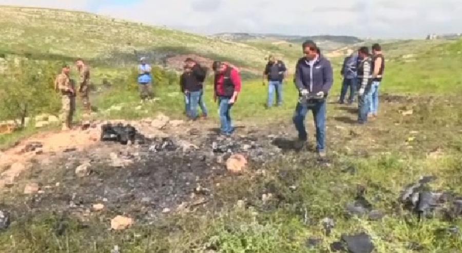 Израильские военные подтвердили данные окрушении беспилотника вЛиване