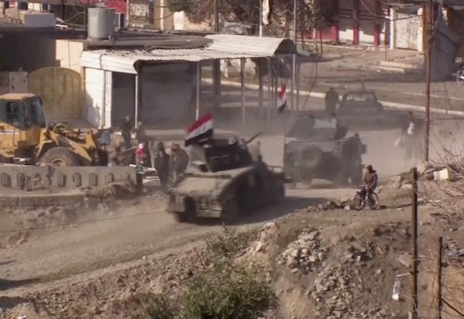 Исламские боевики экстремистской группировки взорвали все переправы через Тигр вМосуле
