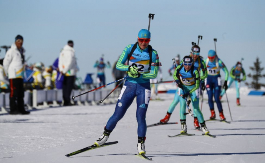 Женская сборная республики Белоруссии побиатлону завоевала золото Олимпиады вэстафете