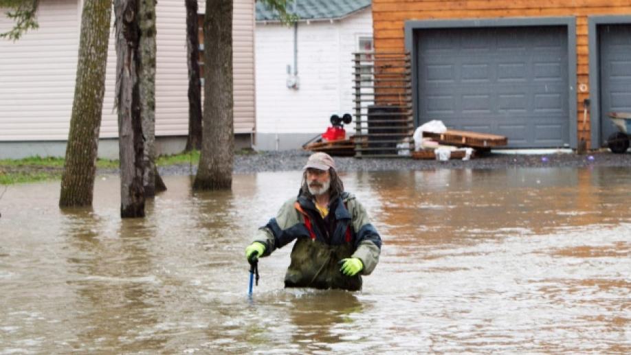 Вканадском Квебеке эвакуировали 785 человек из-за наводнений