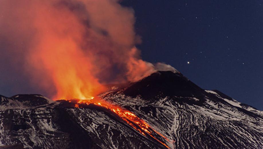 Катастрофа  вИталии: пара с сыном  провалилась вкратер вулкана