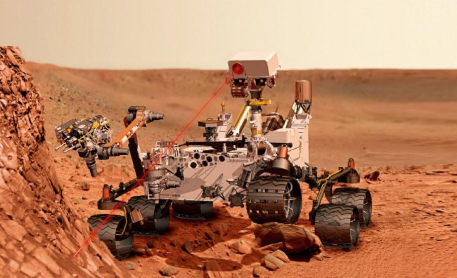 Марсоход «Curiosity» прислал красивые кадры слоистых гор наМарсе