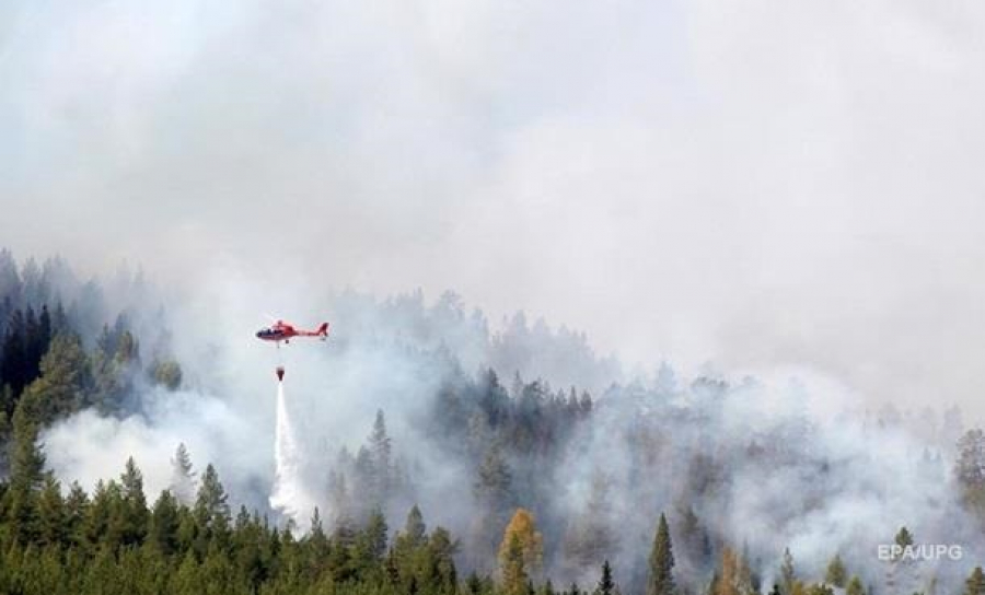 Швеция попросила уЕС помощи воперации потушению лесных пожаров