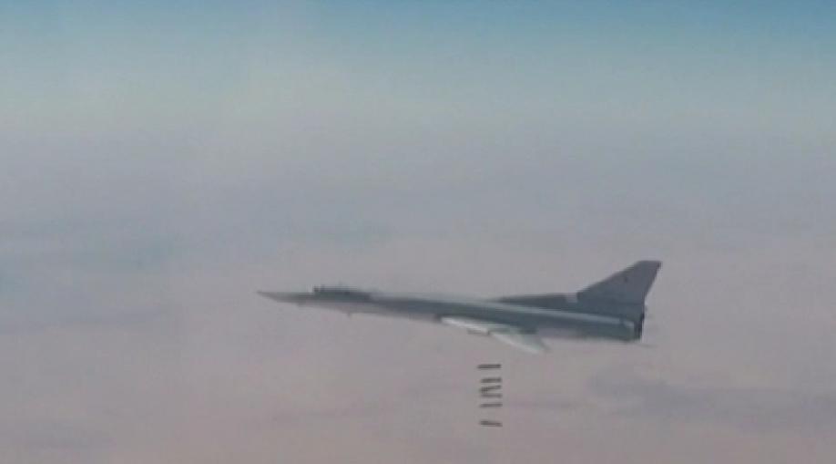 Шесть бомбардировщиков Российской Федерации нанесли удар пообъектам ИГИЛ вСирии