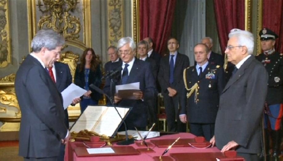 Итальянский президент распустил национальный парламент