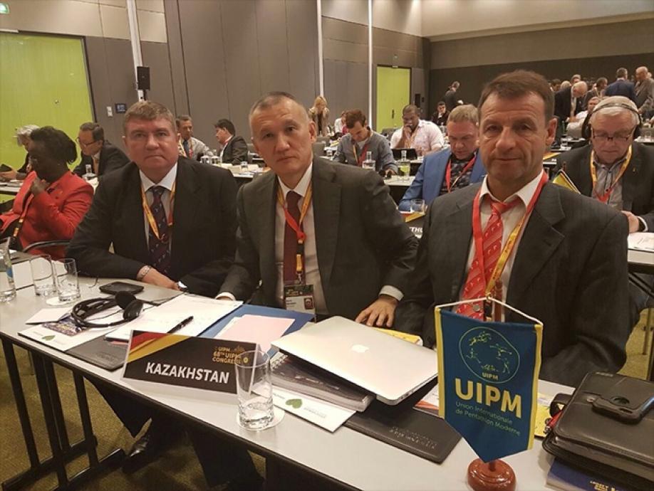 Вячеслав Аминов переизбран вице-президентом Международной федерации современного пятиборья