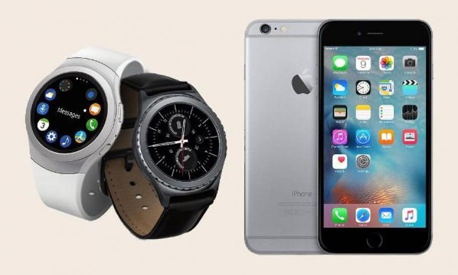 Интеллектуальные часы Самсунг впервый раз получили поддержку Apple iPhone