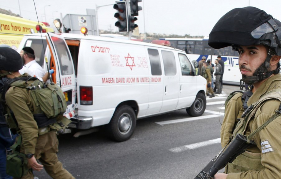 ВИерусалиме террорист напал наполицейский патруль