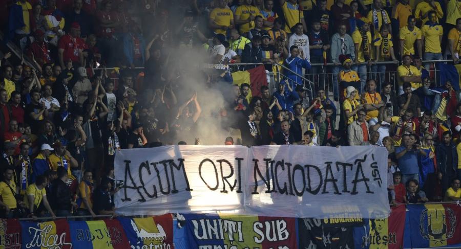 Неменее 50 человек были задержаны из-за беспорядков нафутбольном матче вРумынии