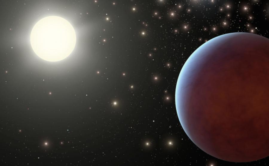 Астрономы обнаружили планету, поглощающую до98% света