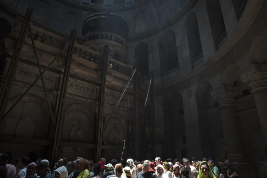 Археологи засвидетельствовали отсутствие повреждений Гроба Господня
