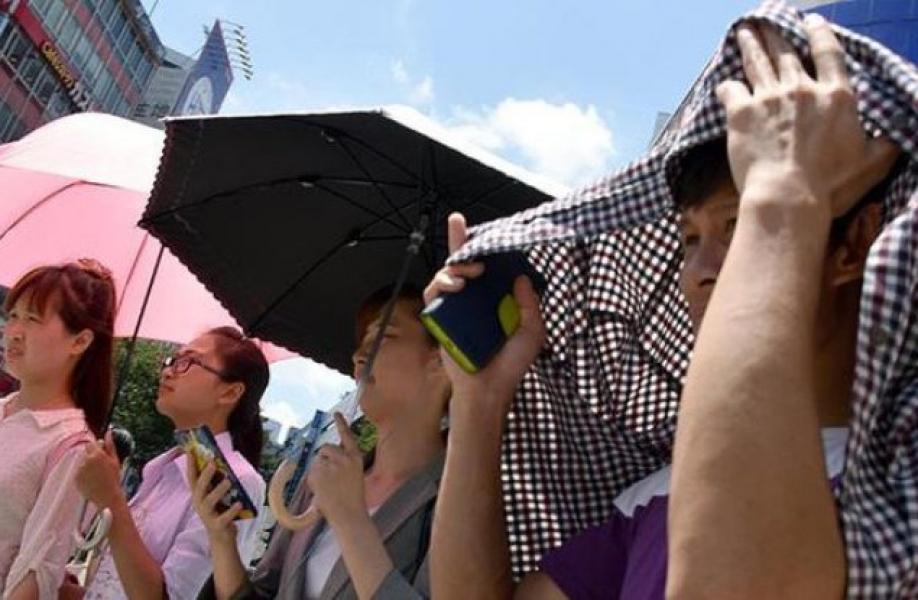 Сильная жара вЯпонии: 8 жертв, тысячи пострадавших