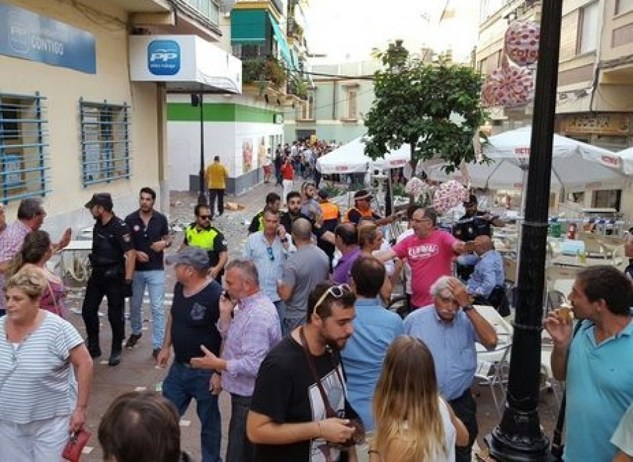 Взрыв виспанском городе Велес-Малага: пострадали более 70 человек