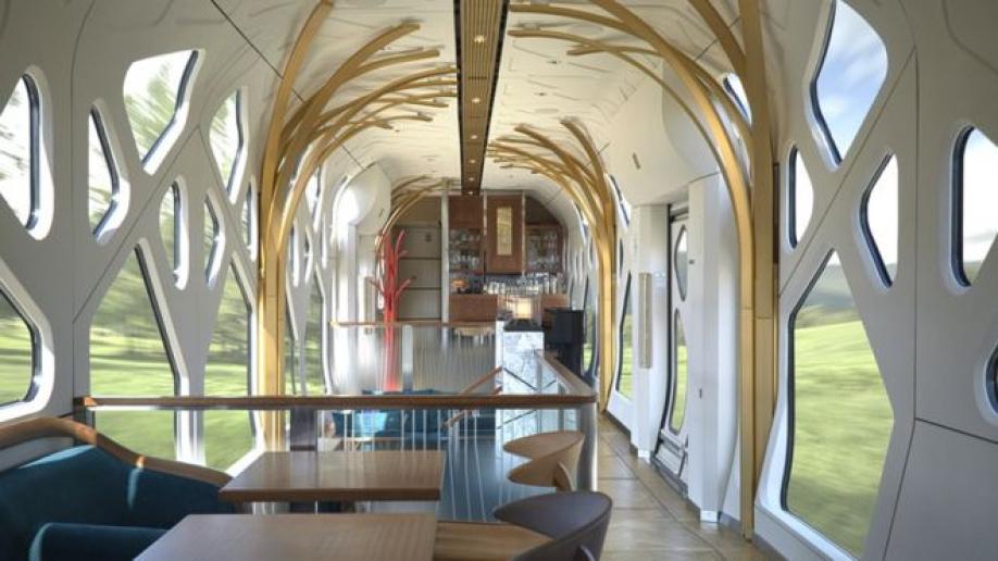 ВЯпонии запустили 1-ый поезд для приверженцев роскоши