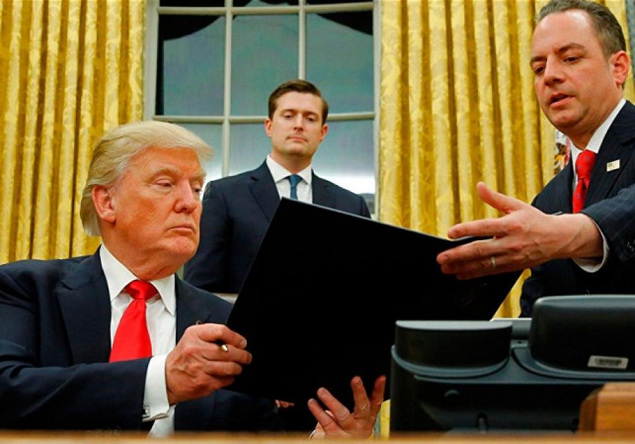 Трамп остановил прием беженцев изСирии