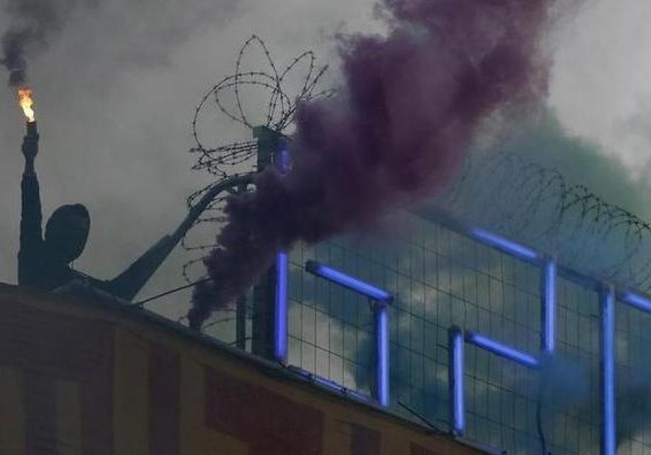Пострадали практически  200 полицейских— Беспорядки вГамбурге