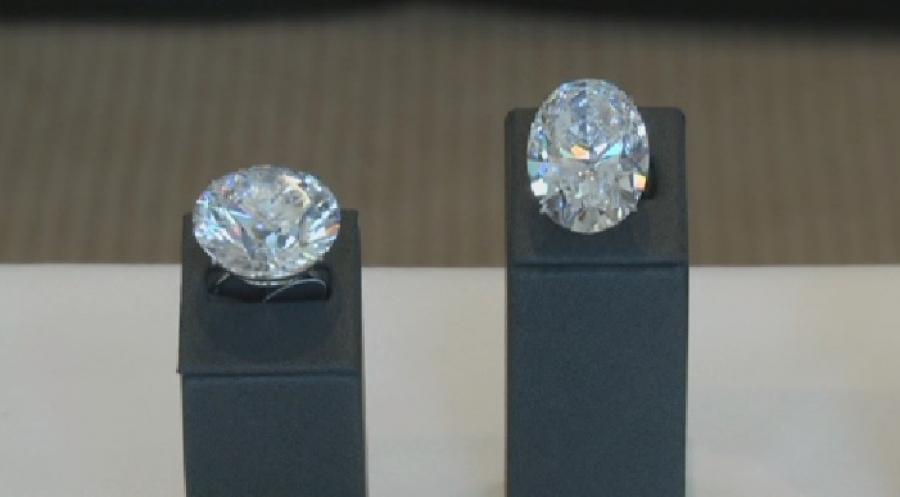 Нааукционе Sotheby's продали редкостный  голубой бриллиант за $6,7 млн