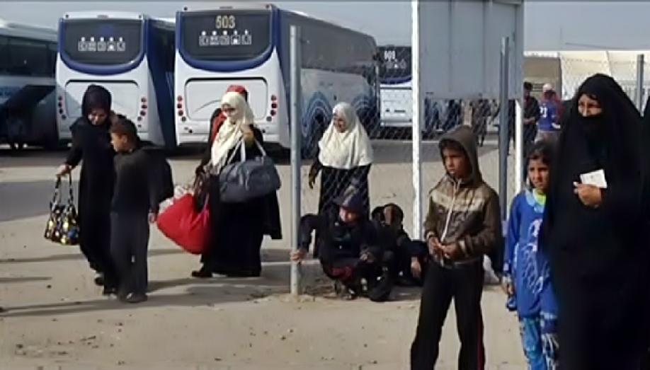 Более 250 беженцев из Мосула были размещены в лагерях