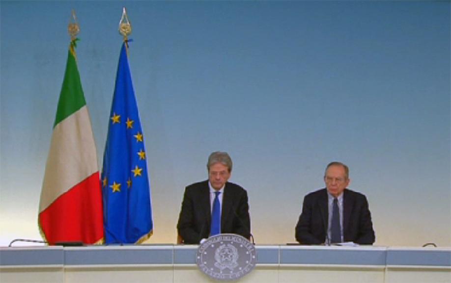 Руководство Италии желает потратить 20млрдевро наподдержку финансового сектора