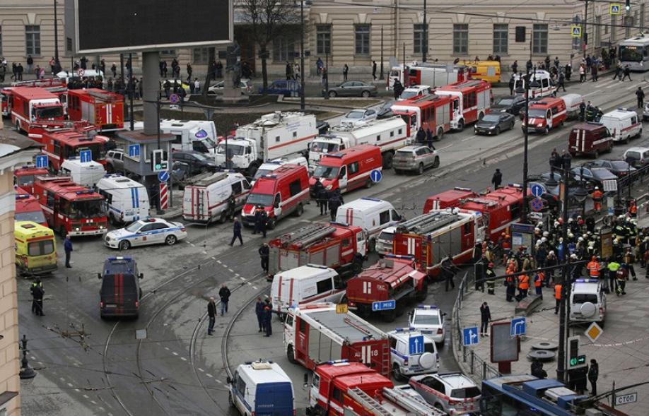 Теракт впроцессе визита В.Путина заставляет задуматься— Кремль