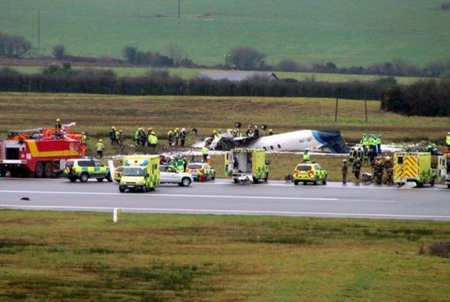При крушении самолета вИрландии погибли пилот иребенок