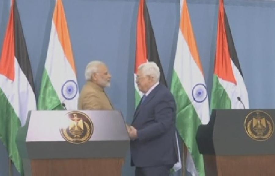 Индия пообещала поддержку палестинцам