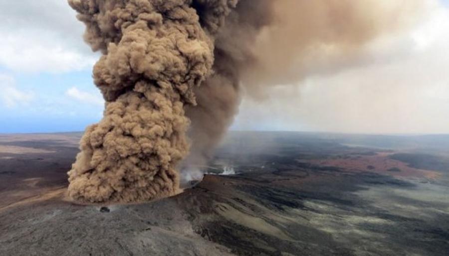 Извержение вулкана Килауэа наГавайях