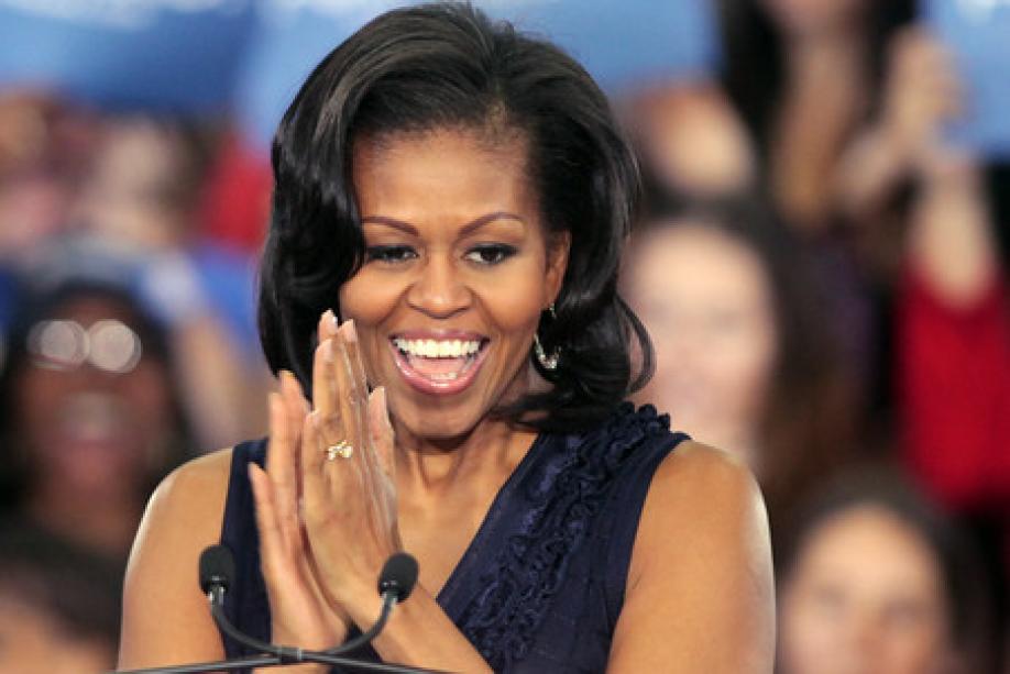 Мишель Обама украсила обложку модного журнала