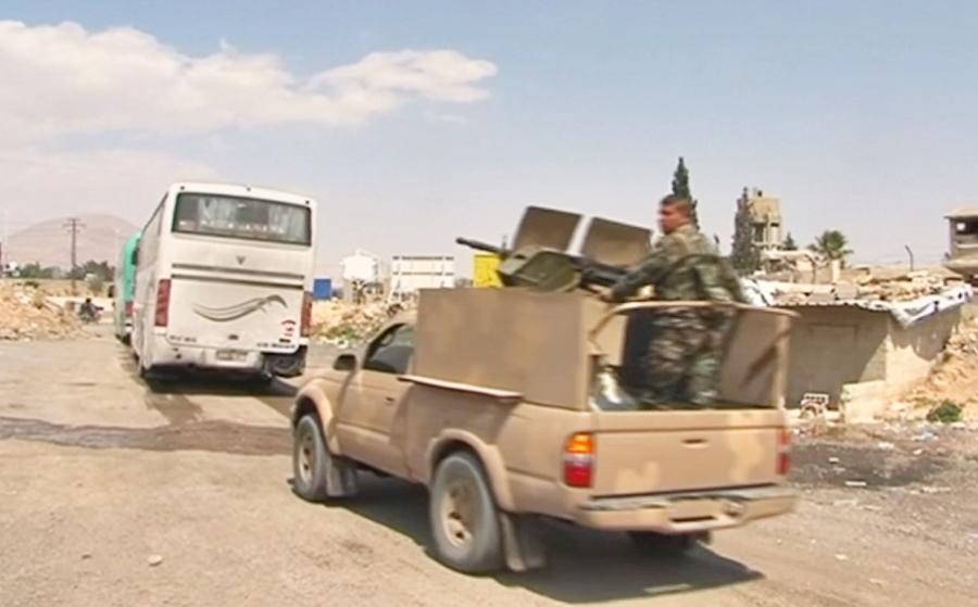 ВМинобороны объявили озавершении вывода боевиков изгорода Дума