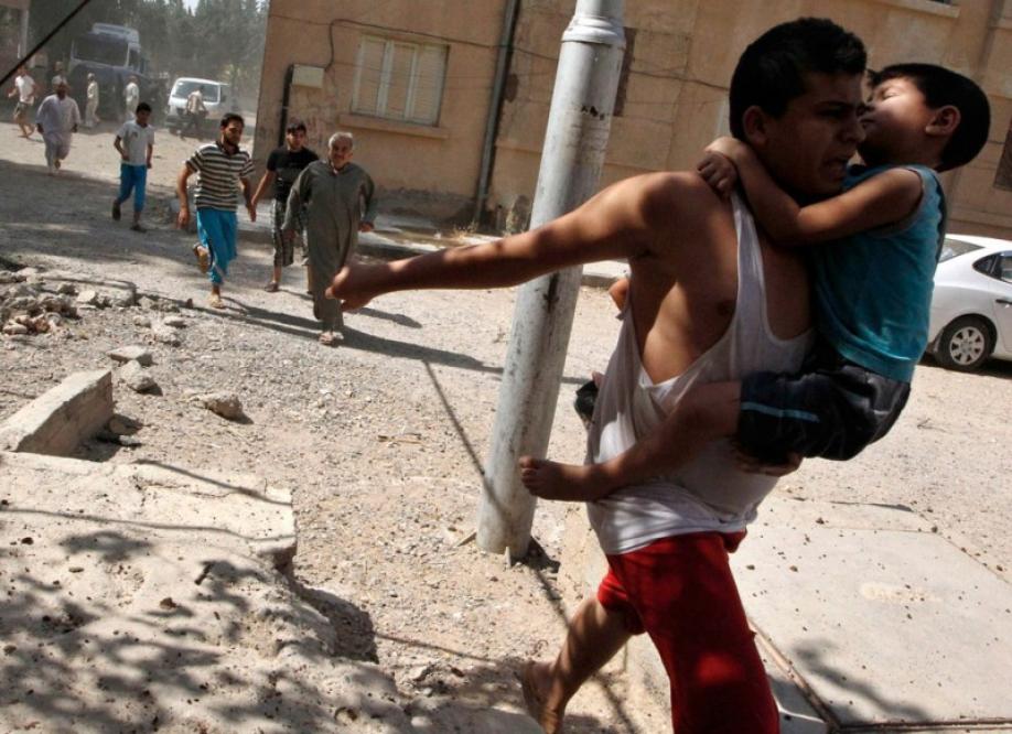 Войска Асада применили химическое оружие впригороде Алеппо