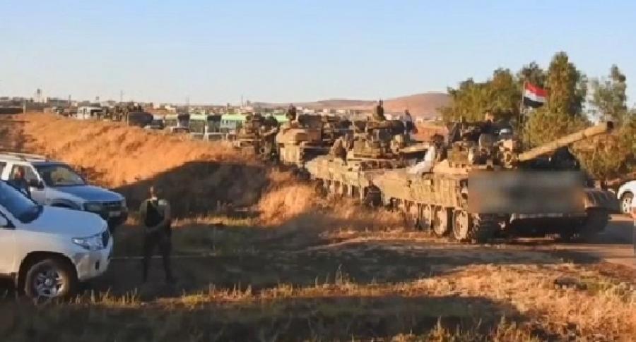 Всирийском городе Эль-Кунейтра началась эвакуация боевиков