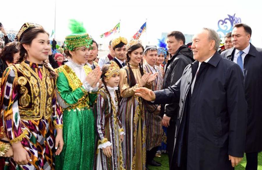 «УКазахстана нет конфликтов»: Назарбаев поведал оразговоре сТрампом