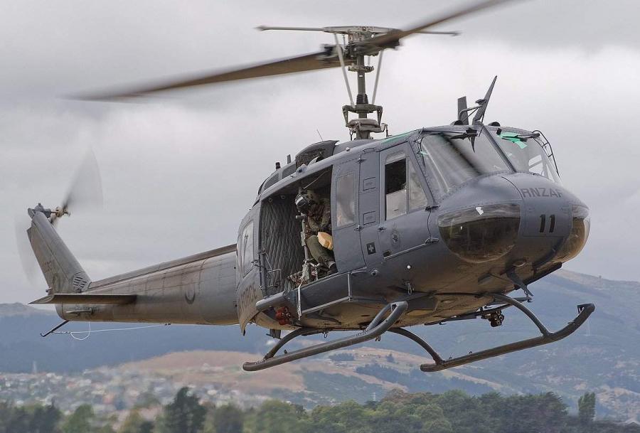 ВСША вертолет уронил нашколу ящик сбоеприпасами