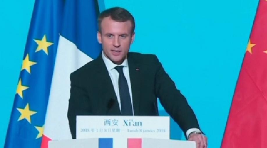 Президент Франции отправился свизитом в КНР - онподарит СиЦзиньпину лошадь