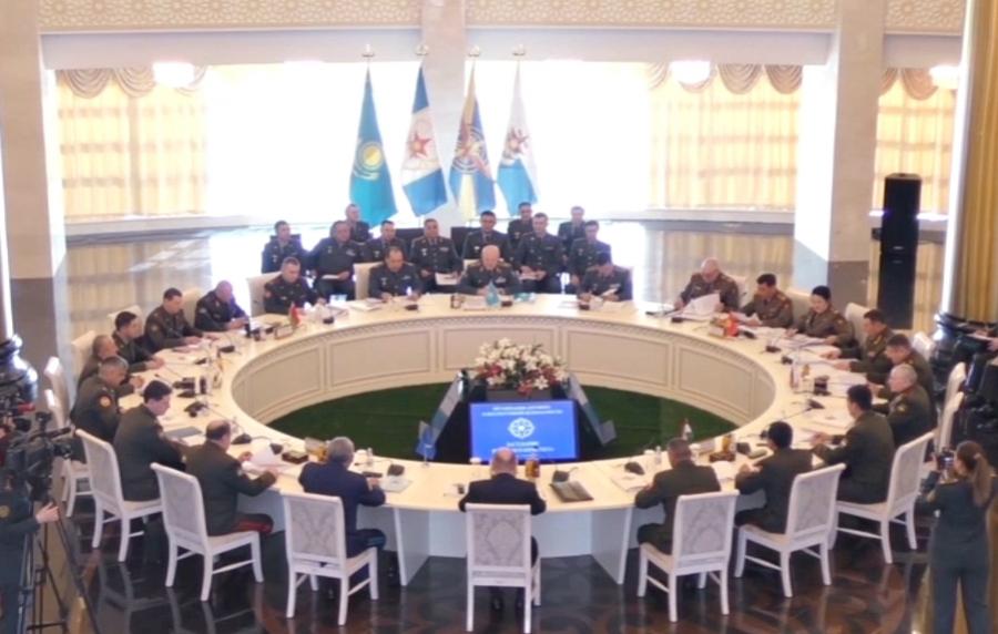 ВАстане состоялось совещание Военного комитета ОДКБ
