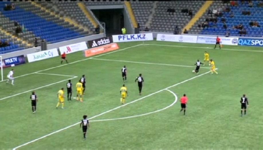 «Астана» проиграла «Кайрату» вматче Премьер-лиги