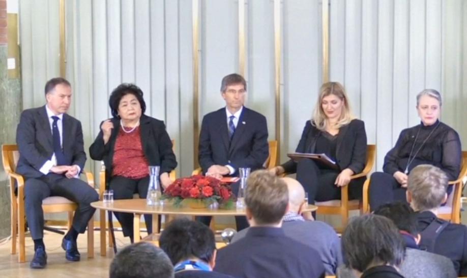 ВОсло вручили Нобелевскую премию мира 2017 года