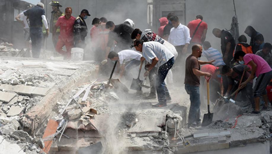 Cотрудники экстренных служб назвали шокирующее количество погибших— Землетрясение вМексике