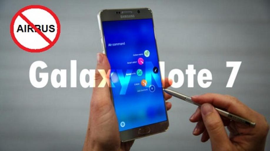 Произошел 1-ый в РФ пожар из-за Galaxy Note 7