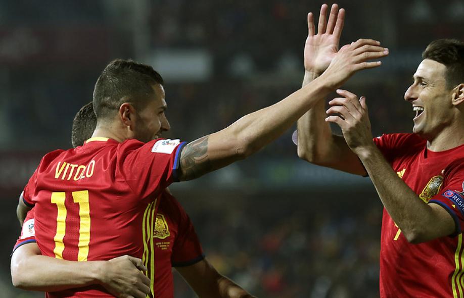Футболист Адурис стал самым возрастным создателем гола вистории сборной Испании