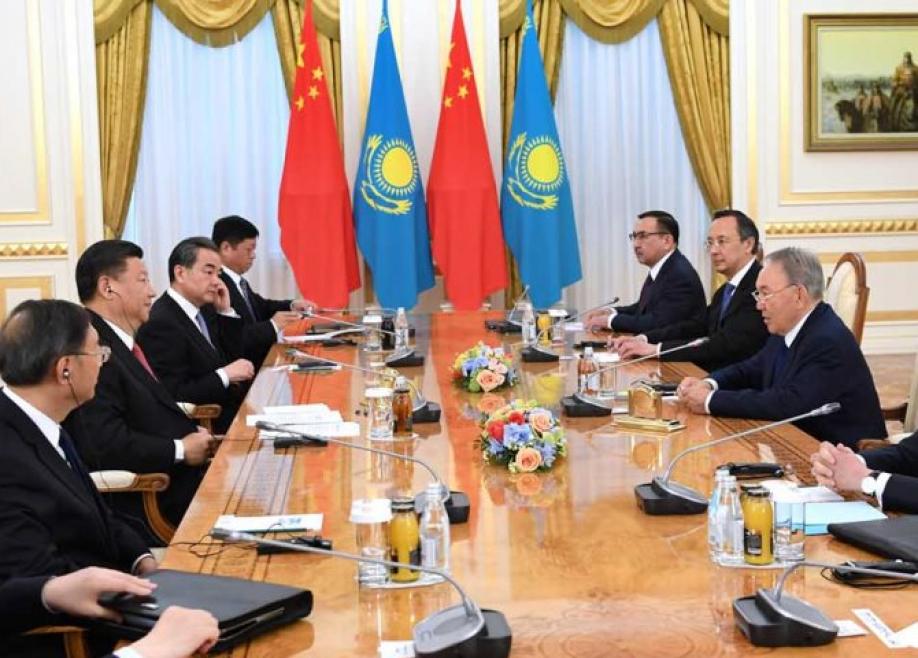 Назарбаев: Основным финансовым партнером Казахстана стал КНР
