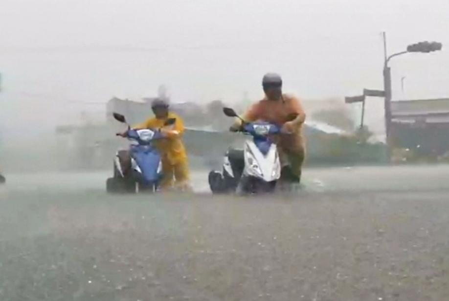 Неменее 80 человек пострадали из-за тайфуна наТайване