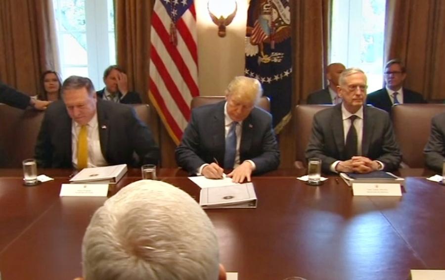 Трамп подписал закон осодействии соблюдению прав человека вКНДР