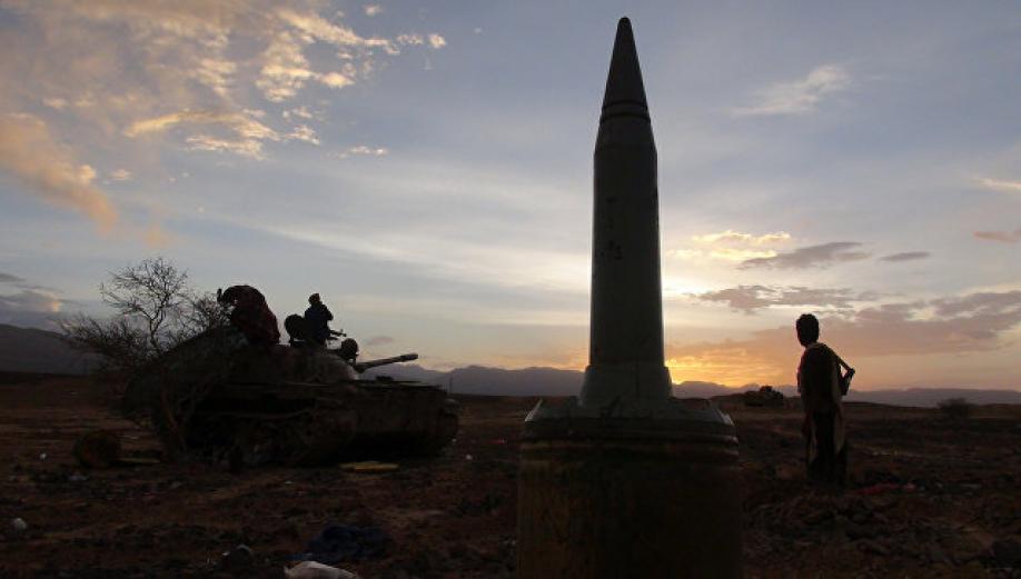 ПоСаудовской Аравии ударила баллистическая ракета