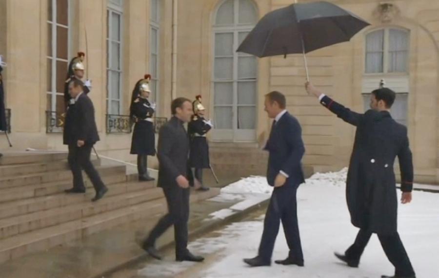 Франция нанесет удар поСирии, ежели подтвердится использование хим. оружия— Макрон