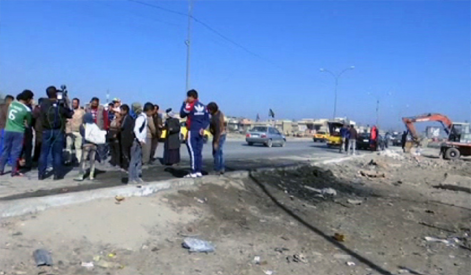 Вцентре Багдада произошел взрыв: погибли как минимум 10 иракцев, десятки ранены