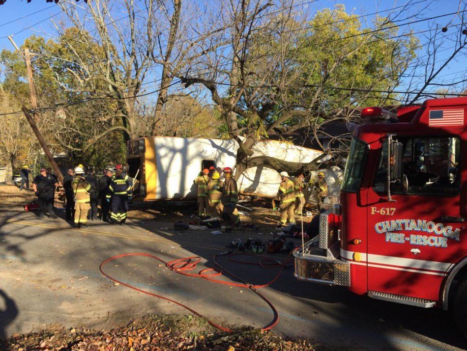 ВСША ученический автобус попал в трагедию: 12 человек жертв