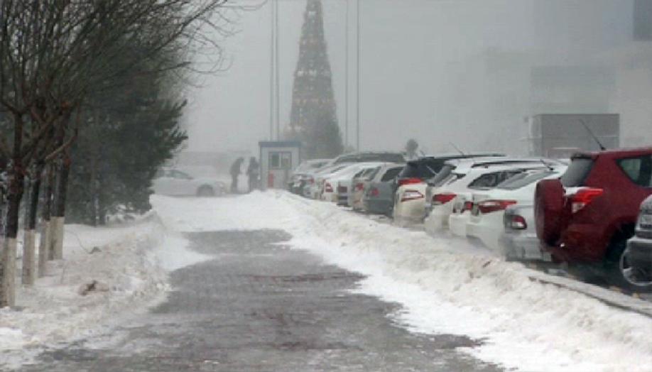 Небольшой снег идо8 градусов мороза ожидается встоличном регионе
