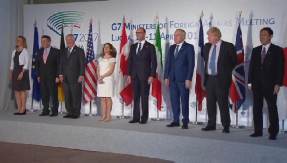 G7 не решили посанкциям против РФ иСирии