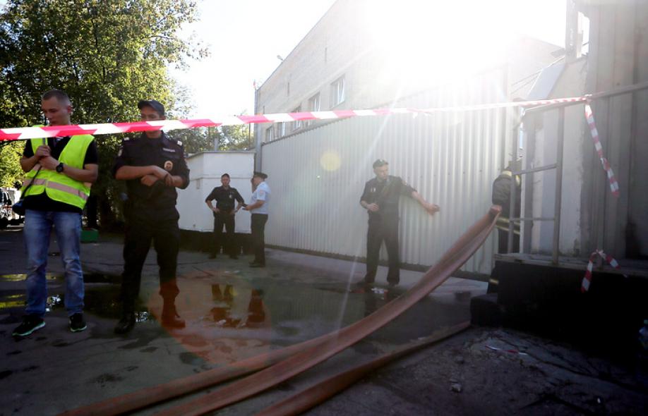 Начальник сгоревшей московской типографии заключен под стражу